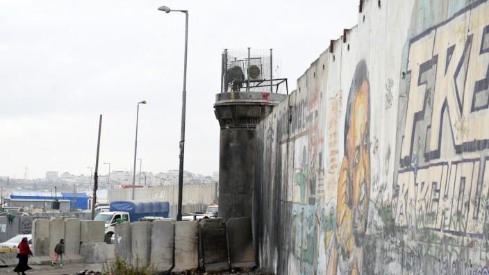 Grenze zwischen Israel und Palästina