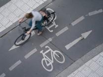 """Radfahren: """"Ein optimaler Radweg wäre drei Meter breit"""""""
