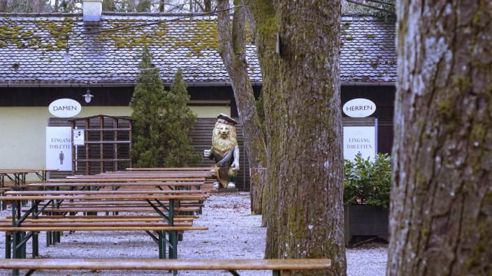 Biergarten Menterschwaige - Harlaching, 2021