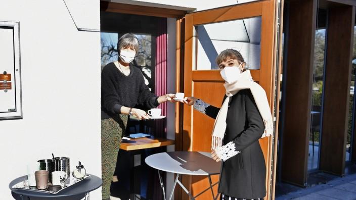 Pöcking, Wiedereröffnung Literaturcafé Waschhäusl