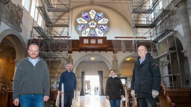 Orgellieferung für Maria Schutz in Pasing.