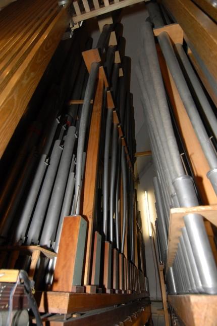 Orgel in der Pfarrkirche Maria Schutz in Pasing, 2013