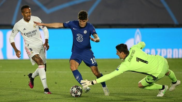 Real Madrid v Chelsea - UEFA Champions League - Semi Final - First Leg - Estadio Alfredo Di Stefano Chelsea s Christian