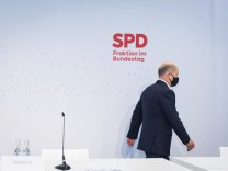 Berlin, Klausurtagung der SPD-Bundestagsfraktion TAG 2 Deutschland, Berlin - 04.09.2020: Im Bild ist Olaf Scholz (Vizeka