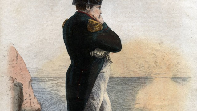Portrait of Napoleon I 1769 1821 on the island of St Helena Napoleon Ier sur l ile de Sainte Hele