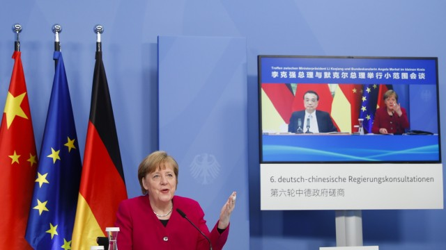 Germany And China Hold Virtual Consultations
