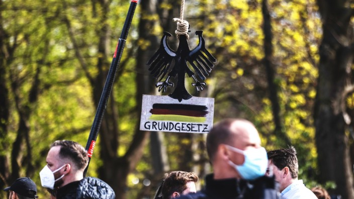 Protesters Rally Against New Lockdown Legislation