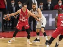 Basketball, Euroleague, day0}.04.2021, FC Bayern München - Armani Olimpia Mailand. Im Bild Zan Mark SISKO (FC Bayern Mü