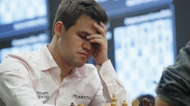 Schachweltmeister Magnus Carlsen