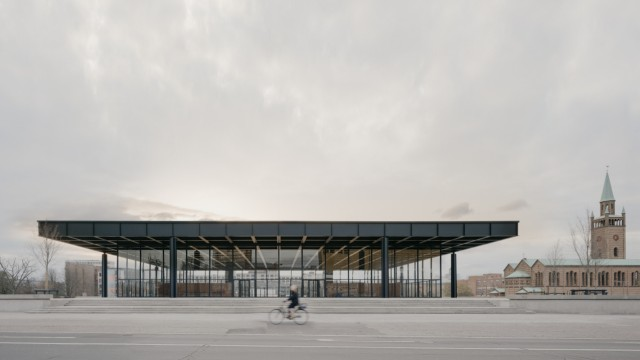 """Grundinstandsetzung Neue Nationalgalerie Berlin, Deutschland 2012 â€"""" 2021 David Chipperfield Architects"""