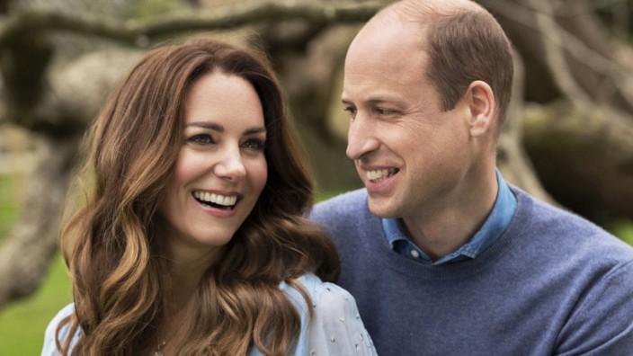 Herzog und Herzogin von Cambridge 10. Hochzeitstag