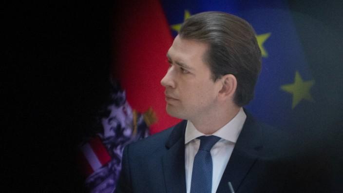AUSTRIA - VIENNA - HEALTH - GOVERNMENT ÖSTERREICH; WIEN; 20210423; Bundeskanzler Sebastian Kurz während einer Pressekonf