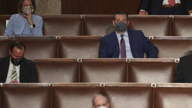 April 28, 2021, Washington, District of Columbia, USA: Republican U.S. Senators Mike Lee (R-UT), Shelly Moore Capito (R