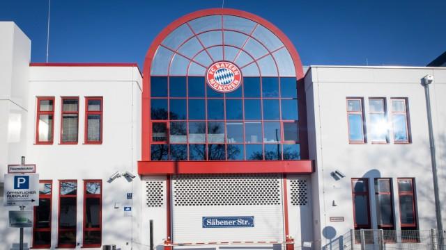 Geschäftsstelle des FC Bayern in München in der Säbenerstraße