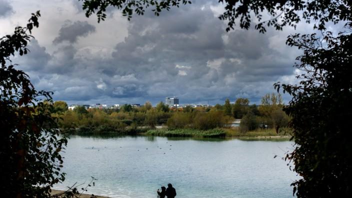 Wetter-Impression vom Hollerner See