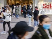 Corona in Deutschland: Geschäfte in Essen während der Corona-Pandemie