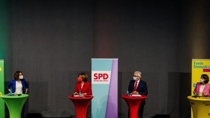 Pressekonferenz zum Abschluss der Koalitionsverhandlungen