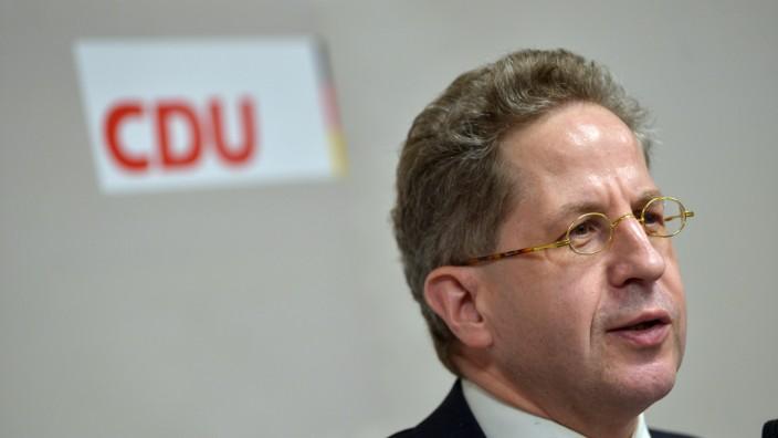 Ex-Verfassungsschutzchef Maaßen will für CDU kandidieren