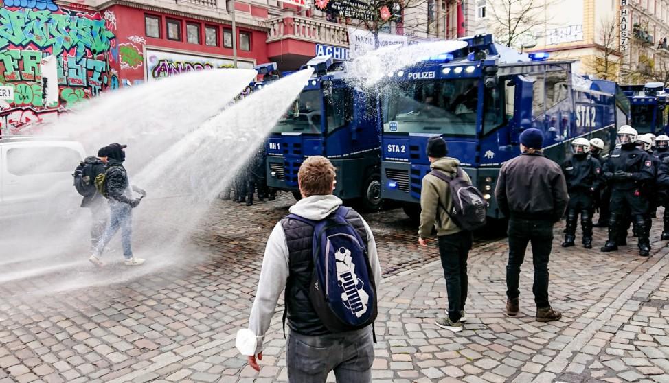 1. Mai - Demonstrationen - Hamburg