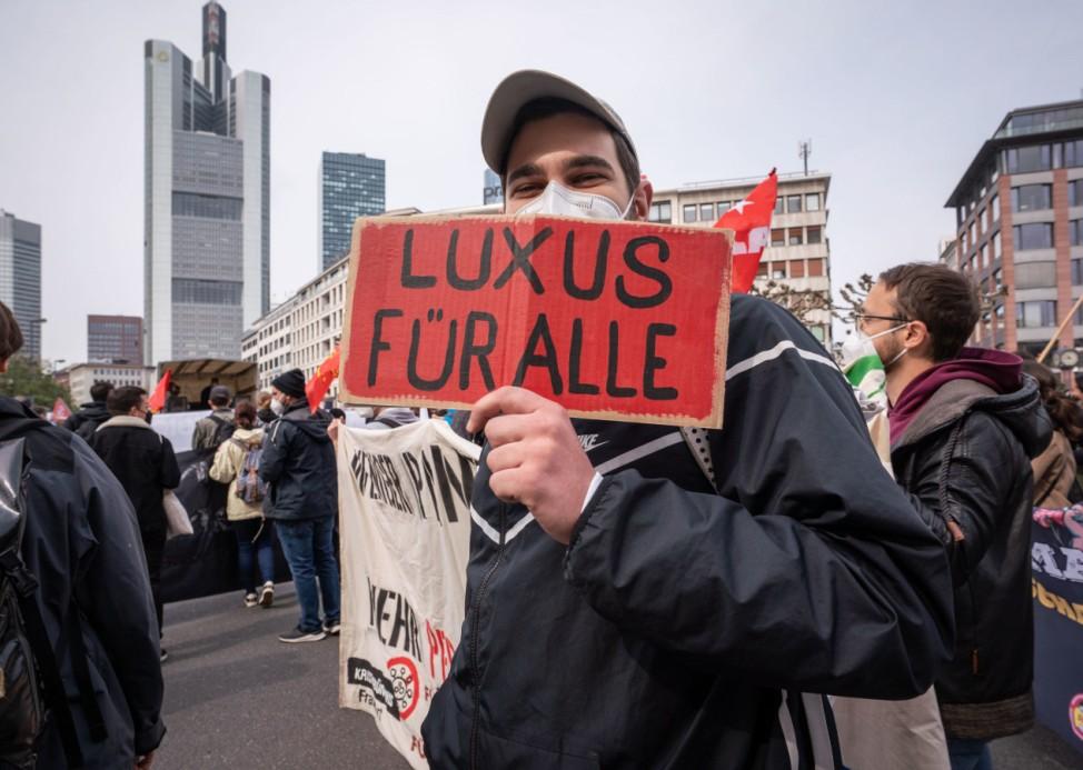 1. Mai - Demonstrationen - Frankfurt/Main