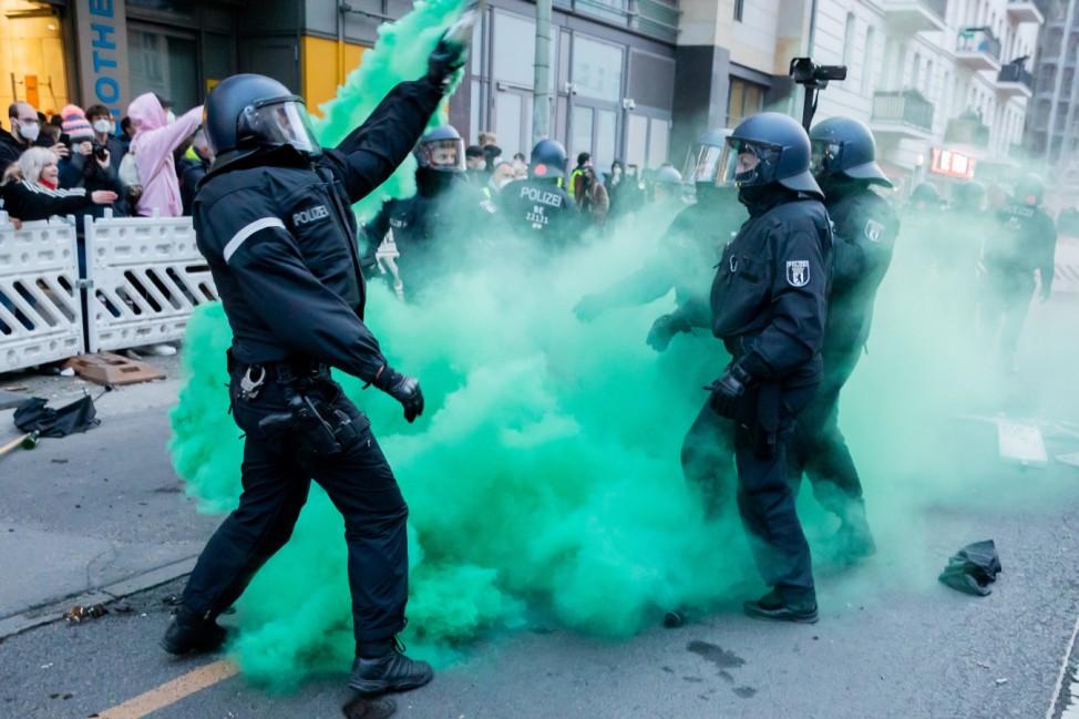1. Mai - Demonstrationen - Berlin