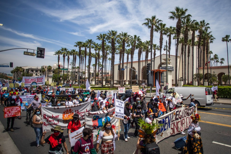 May Day Rallies Held In Cities Across The U.S.