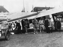 Erster Linienflug München-Mailand, 1931