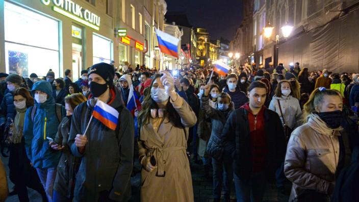 Mangelnde Pressefreiheit in Russland