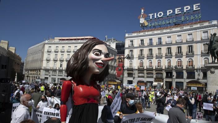 Regionalwahlkampf in Madrid