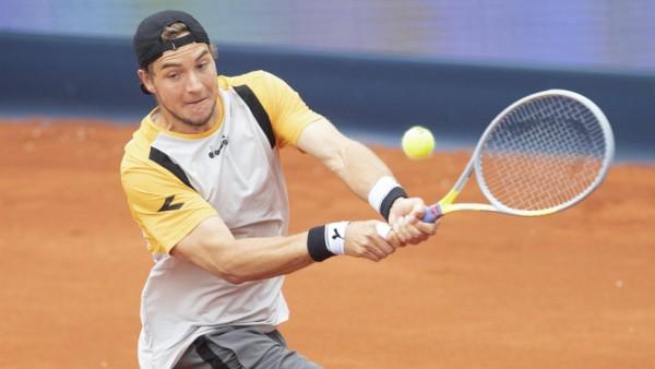 Jan-Lennard Struff (GER) Tennis - BMW Open 2021 - ATP, Tennis Herren - MTTC Iphitos - Munich - - Germany - 1 May 2021. *