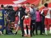 Ligue 1: Rudelbildung beim Spiel Olympique Lyon gegen AS Monaco
