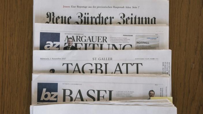 Zusammenschluss AZ-Medien und NZZ-Gruppe in der Schweiz