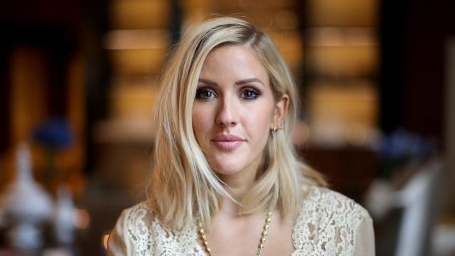 FILE: Singer Ellie Goulding Welcomes First Child With Husband Caspar Jopling
