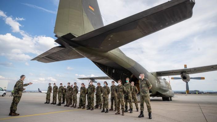 Bundeswehr-Sanitätspersonal kehrt aus Portugal zurück