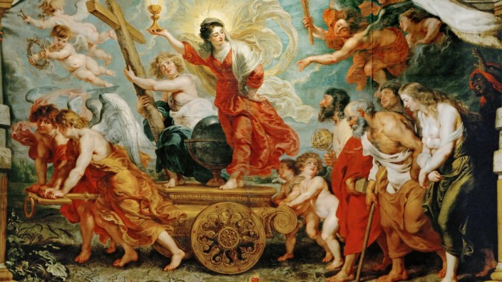 Triumph of Faith. (Allegory of the victory of Catholic faith over the Reformation). Creator: Rubens, Pieter Paul (1577-1640).