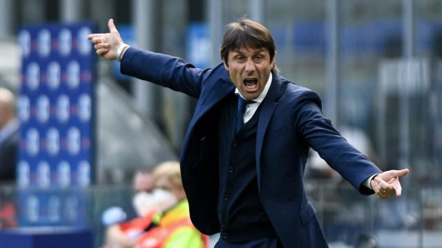Foto Piero Cruciatti / LaPresse 25/04/21 - Milano, Italia Calcio Inter vs Hellas Verona - Campionato italiano di calcio