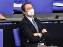 Andreas Scheuer in der 221. Sitzung des Deutschen Bundestages im Reichstagsgebäude. Berlin, 15.04.2021 *** Andreas Sche