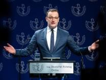 Coronavirus, Gesundheitsminister Jens Spahn