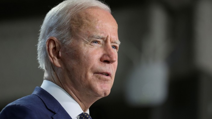 US-Präsident Joe Biden in Virginia