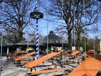 Coronavirus - Biergarten Englischer Garten