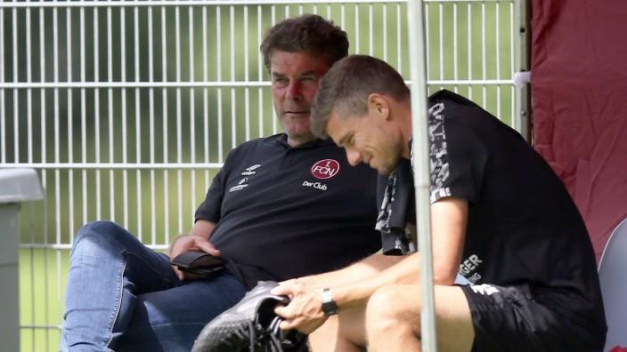 25.08.2020 - Fussball - 2. Bundesliga - Saison 2020 2021 - 1. FC Nürnberg FCN Club - Trainingslager Saalfelden - Sportfo; 1. FC Nürnberg, Fußball, 2. Bundesliga