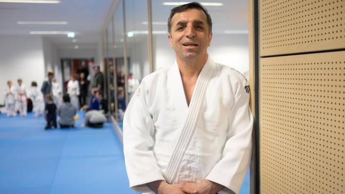 Judo-Trainer Yusuf Güngörmüs von den Harteck Hornets in München, 2020