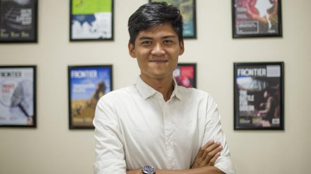 Mratt Kyaw Thu, 27, hat für seine akribische Arbeit einen Preis der Nachrichtenagentur AFP gewonnen, nun floh er vor der Junta in Myanmar nach Deutschland.