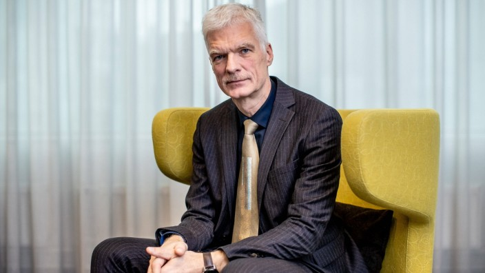 Tallinn 10.12.2019 Andreas Schleicher, PISA testi looja. OECD Director for Education Andreas Schleicher, creator of PIS