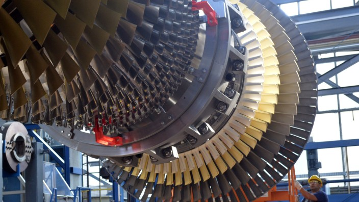 Siemens - Gasturbinenwerk in Berlin