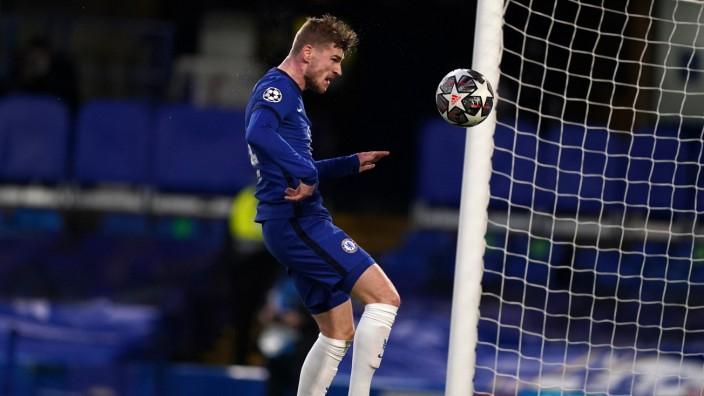 Chelsea v Real Madrid - UEFA Champions League - Semi Final - Second Leg - Stamford Bridge Chelsea s Timo Werner scores