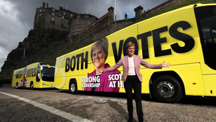 Vor der Parlamentswahl in Schottland