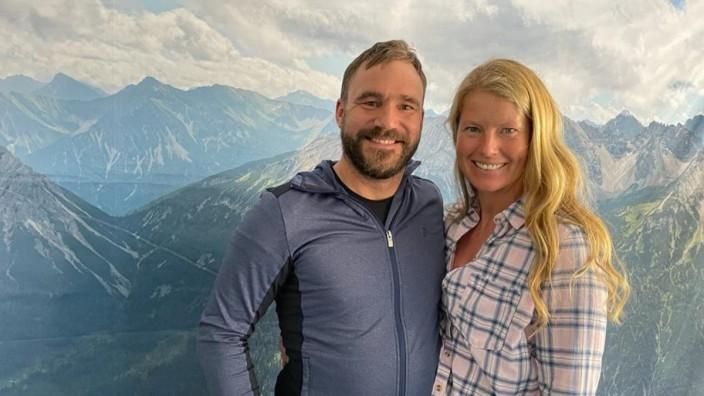 Hüttenwirte Claudia und Bertl Rackwitz-Hartmann