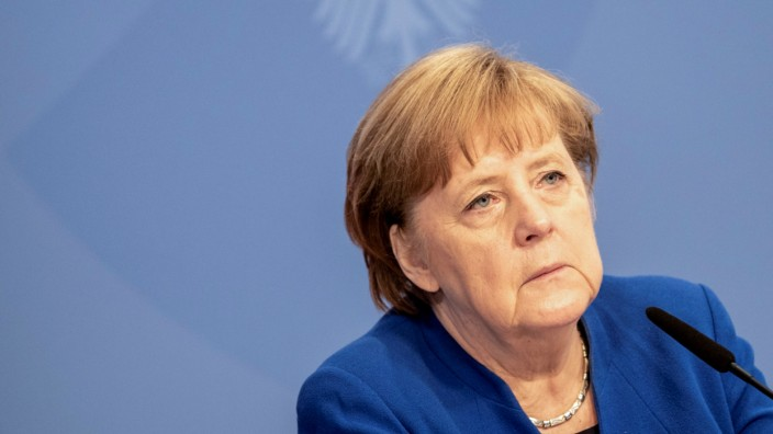 Germany's Merkel addresses Petersberg Climate Dialogue conference