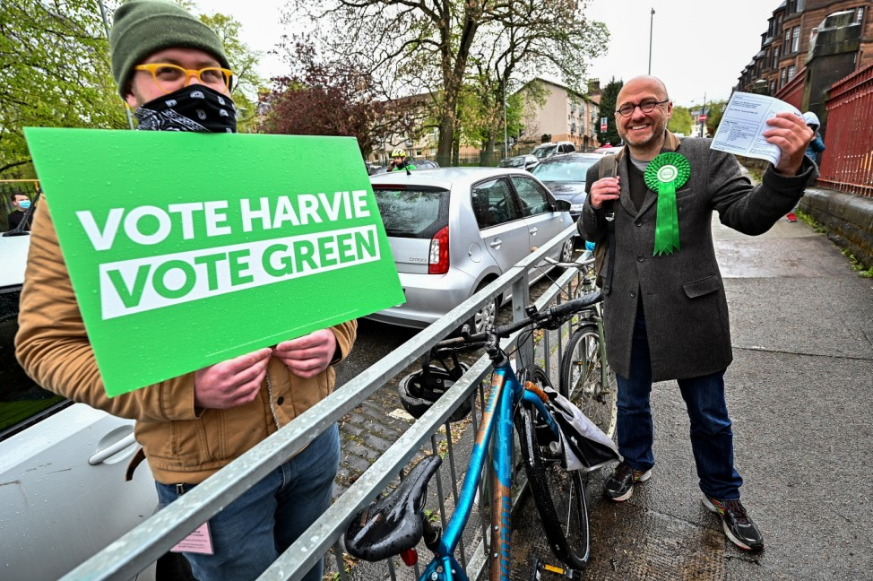 Scottish Voters Go To Polls In The 2021 Holyrood Elections